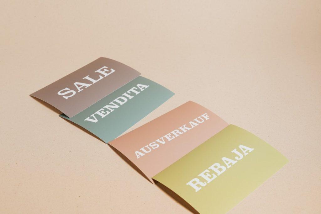 language flash cards